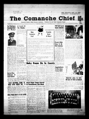 Primary view of object titled 'The Comanche Chief (Comanche, Tex.), Vol. 96, No. 25, Ed. 1 Friday, December 6, 1968'.