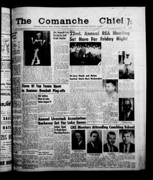 Primary view of object titled 'The Comanche Chief (Comanche, Tex.), Vol. 88, No. 6, Ed. 1 Friday, August 5, 1960'.