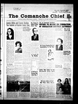 Primary view of object titled 'The Comanche Chief (Comanche, Tex.), Vol. 95, No. 47, Ed. 1 Friday, May 10, 1968'.
