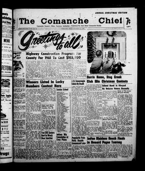 Primary view of object titled 'The Comanche Chief (Comanche, Tex.), Vol. 87, No. 26, Ed. 1 Friday, December 23, 1960'.
