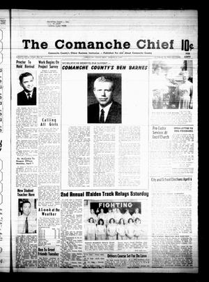 Primary view of object titled 'The Comanche Chief (Comanche, Tex.), Vol. 95, No. 41, Ed. 1 Friday, March 29, 1968'.