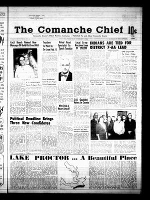 Primary view of object titled 'The Comanche Chief (Comanche, Tex.), Vol. 95, No. 34, Ed. 1 Friday, February 9, 1968'.