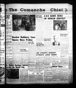 Primary view of object titled 'The Comanche Chief (Comanche, Tex.), Vol. 87, No. 39, Ed. 1 Friday, March 24, 1961'.