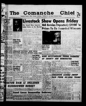 Primary view of object titled 'The Comanche Chief (Comanche, Tex.), Vol. 87, No. 30, Ed. 1 Friday, January 22, 1960'.