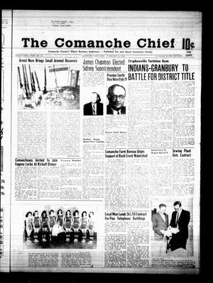 Primary view of object titled 'The Comanche Chief (Comanche, Tex.), Vol. 95, No. 36, Ed. 1 Friday, February 23, 1968'.