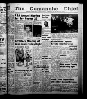 Primary view of object titled 'The Comanche Chief (Comanche, Tex.), Vol. 86, No. 7, Ed. 1 Friday, August 15, 1958'.