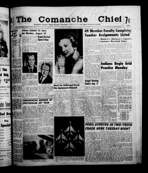 Primary view of object titled 'The Comanche Chief (Comanche, Tex.), Vol. 88, No. 7, Ed. 1 Friday, August 12, 1960'.