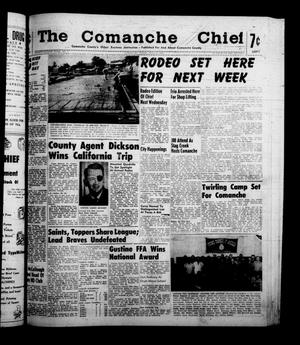 Primary view of object titled 'The Comanche Chief (Comanche, Tex.), Vol. 88, No. 3, Ed. 1 Friday, July 15, 1960'.
