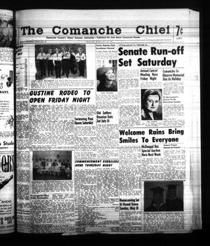 Primary view of object titled 'The Comanche Chief (Comanche, Tex.), Vol. 87, No. 48, Ed. 1 Friday, May 26, 1961'.