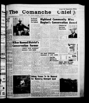 Primary view of object titled 'The Comanche Chief (Comanche, Tex.), Vol. 87, No. 46, Ed. 1 Friday, May 13, 1960'.