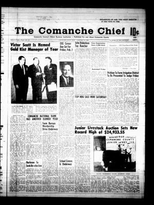 Primary view of object titled 'The Comanche Chief (Comanche, Tex.), Vol. 95, No. 32, Ed. 1 Friday, January 26, 1968'.