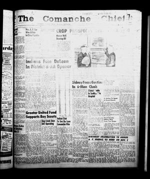 Primary view of object titled 'The Comanche Chief (Comanche, Tex.), Vol. 86, No. 16, Ed. 1 Friday, October 17, 1958'.