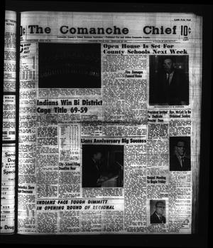 Primary view of object titled 'The Comanche Chief (Comanche, Tex.), Vol. 91, No. 36, Ed. 1 Friday, February 28, 1964'.