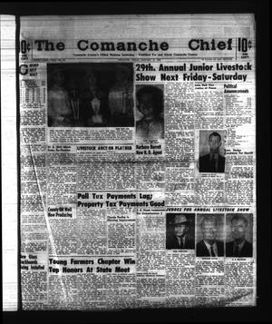 Primary view of object titled 'The Comanche Chief (Comanche, Tex.), Vol. 91, No. 29, Ed. 1 Friday, January 10, 1964'.
