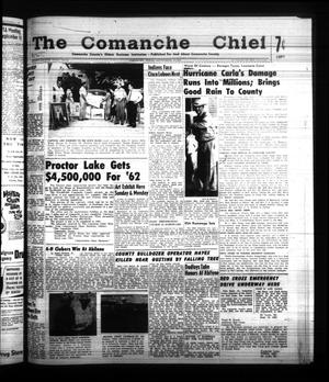 Primary view of object titled 'The Comanche Chief (Comanche, Tex.), Vol. 88, No. 12, Ed. 1 Friday, September 15, 1961'.