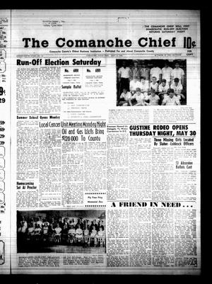 Primary view of object titled 'The Comanche Chief (Comanche, Tex.), Vol. 95, No. 50, Ed. 1 Friday, May 31, 1968'.