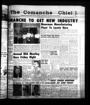 Primary view of object titled 'The Comanche Chief (Comanche, Tex.), Vol. 88, No. 6, Ed. 1 Friday, August 4, 1961'.