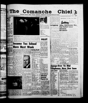 Primary view of object titled 'The Comanche Chief (Comanche, Tex.), Vol. 87, No. 23, Ed. 1 Friday, December 2, 1960'.