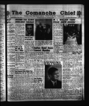 Primary view of object titled 'The Comanche Chief (Comanche, Tex.), Vol. 92, No. 25, Ed. 1 Friday, December 11, 1964'.