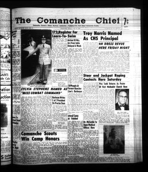 Primary view of object titled 'The Comanche Chief (Comanche, Tex.), Vol. 87, No. 51, Ed. 1 Friday, June 16, 1961'.