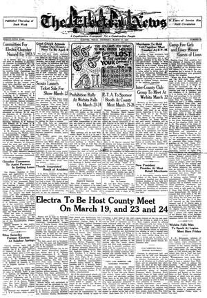 Primary view of object titled 'The Electra News (Electra, Tex.), Vol. 25, No. 28, Ed. 1 Thursday, March 17, 1932'.