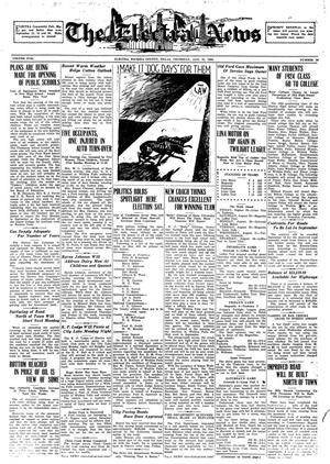 Primary view of object titled 'The Electra News (Electra, Tex.), Vol. 17, No. 50, Ed. 1 Thursday, August 21, 1924'.