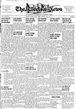 Primary view of object titled 'The Electra News (Electra, Tex.), Vol. 39, No. 39, Ed. 1 Thursday, June 5, 1947'.