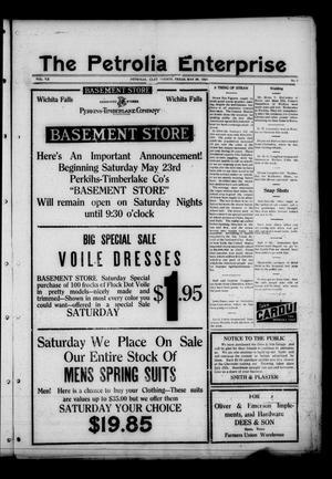 The Petrolia Enterprise (Petrolia, Tex.), Vol. 20, No. 22, Ed. 1 Thursday, May 28, 1925