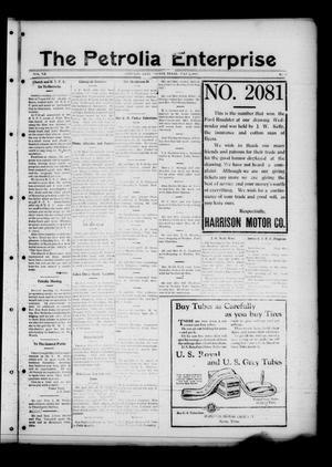 The Petrolia Enterprise (Petrolia, Tex.), Vol. 20, No. 27, Ed. 1 Thursday, July 2, 1925