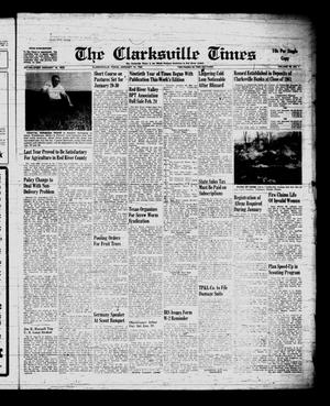 Primary view of object titled 'The Clarksville Times (Clarksville, Tex.), Vol. 90, No. 1, Ed. 1 Friday, January 19, 1962'.