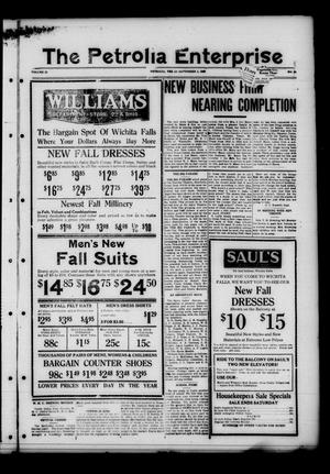 The Petrolia Enterprise (Petrolia, Tex.), Vol. 22, No. 35, Ed. 1 Thursday, September 1, 1927