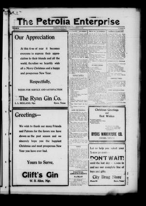 The Petrolia Enterprise (Petrolia, Tex.), Vol. 22, No. 51, Ed. 1 Thursday, December 22, 1927