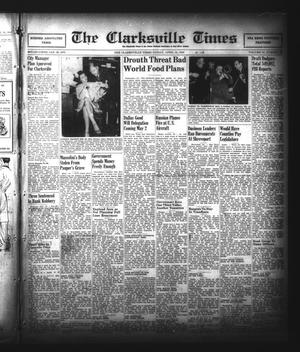 Primary view of object titled 'The Clarksville Times (Clarksville, Tex.), Vol. 74, No. 14, Ed. 1 Friday, April 26, 1946'.
