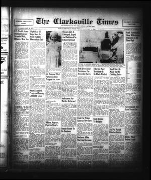Primary view of object titled 'The Clarksville Times (Clarksville, Tex.), Vol. 73, No. 52, Ed. 1 Friday, January 11, 1946'.