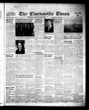 Primary view of object titled 'The Clarksville Times (Clarksville, Tex.), Vol. 89, No. 6, Ed. 1 Friday, February 24, 1961'.