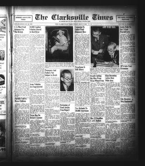 Primary view of object titled 'The Clarksville Times (Clarksville, Tex.), Vol. 74, No. 17, Ed. 1 Friday, May 17, 1946'.