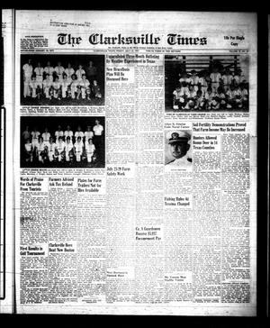 Primary view of object titled 'The Clarksville Times (Clarksville, Tex.), Vol. 89, No. 27, Ed. 1 Friday, July 21, 1961'.