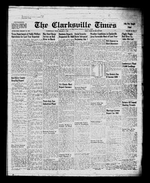 Primary view of object titled 'The Clarksville Times (Clarksville, Tex.), Vol. 89, No. 51, Ed. 1 Friday, January 5, 1962'.
