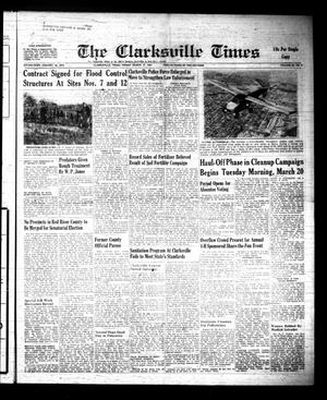 Primary view of object titled 'The Clarksville Times (Clarksville, Tex.), Vol. 89, No. 9, Ed. 1 Friday, March 17, 1961'.