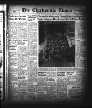 Primary view of object titled 'The Clarksville Times (Clarksville, Tex.), Vol. 74, No. 46, Ed. 1 Friday, December 6, 1946'.