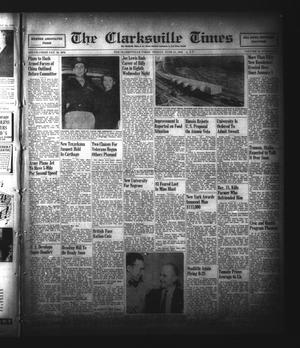 Primary view of object titled 'The Clarksville Times (Clarksville, Tex.), Vol. 74, No. 22, Ed. 1 Friday, June 21, 1946'.