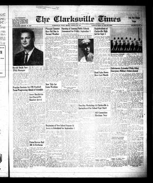 Primary view of object titled 'The Clarksville Times (Clarksville, Tex.), Vol. 89, No. 32, Ed. 1 Friday, August 25, 1961'.