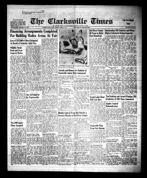 Primary view of object titled 'The Clarksville Times (Clarksville, Tex.), Vol. 89, No. 20, Ed. 1 Friday, June 2, 1961'.