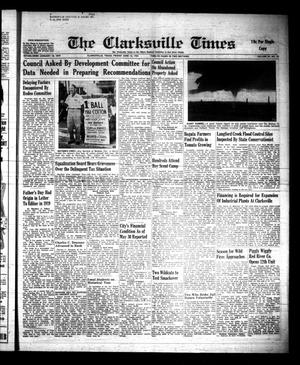 Primary view of object titled 'The Clarksville Times (Clarksville, Tex.), Vol. 89, No. 22, Ed. 1 Friday, June 16, 1961'.