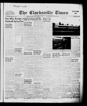 Primary view of object titled 'The Clarksville Times (Clarksville, Tex.), Vol. 87, No. 52, Ed. 1 Friday, January 15, 1960'.