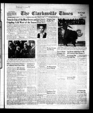 Primary view of object titled 'The Clarksville Times (Clarksville, Tex.), Vol. 89, No. 2, Ed. 1 Friday, January 27, 1961'.