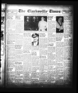 Primary view of object titled 'The Clarksville Times (Clarksville, Tex.), Vol. 73, No. 29, Ed. 1 Friday, August 3, 1945'.