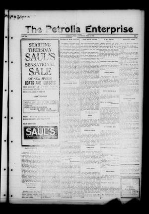 The Petrolia Enterprise (Petrolia, Tex.), Vol. 21, No. 8, Ed. 1 Thursday, February 25, 1926