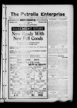 The Petrolia Enterprise (Petrolia, Tex.), Vol. 20, No. 38, Ed. 1 Thursday, September 17, 1925