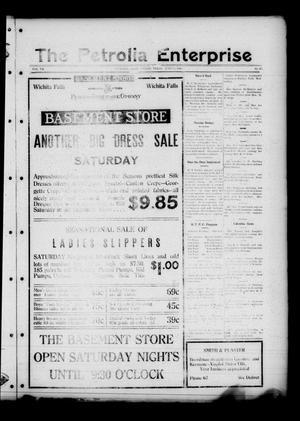 The Petrolia Enterprise (Petrolia, Tex.), Vol. 20, No. 25, Ed. 1 Thursday, June 18, 1925